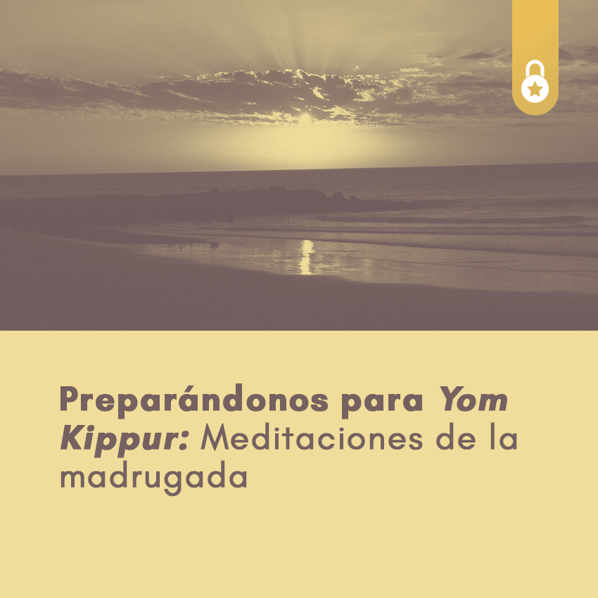 preparándonos para Yom Kippur
