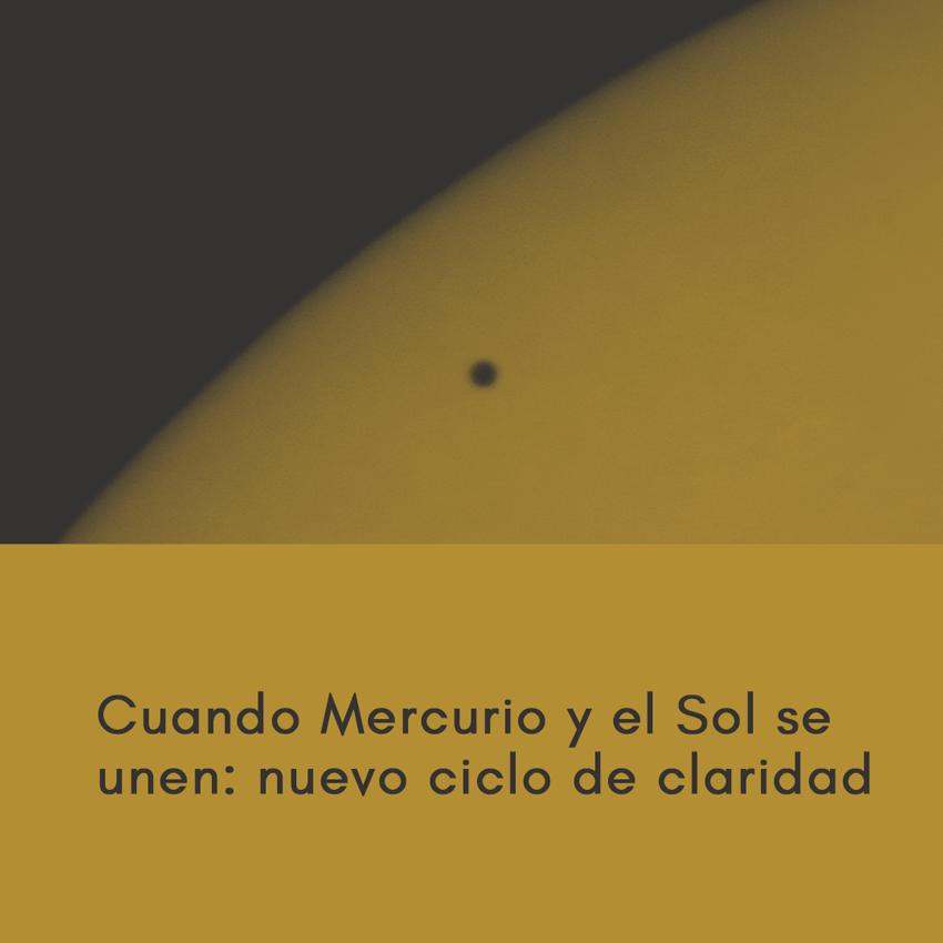 Cuando Mercurio retro y el Sol se unen