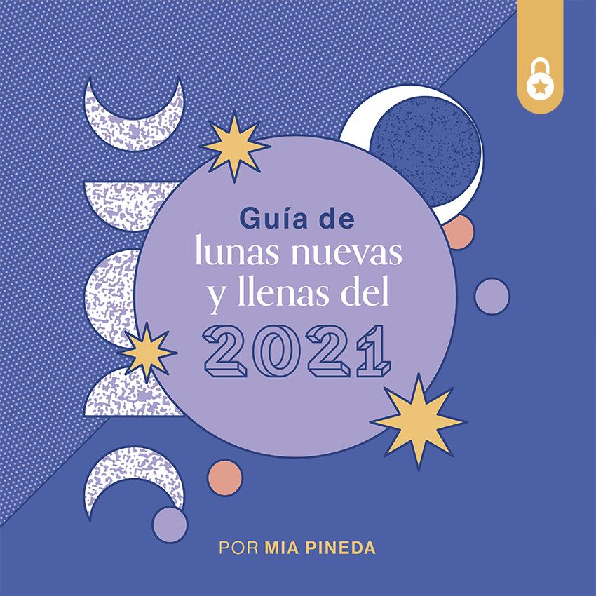 Lunas nuevas y llenas de 2021