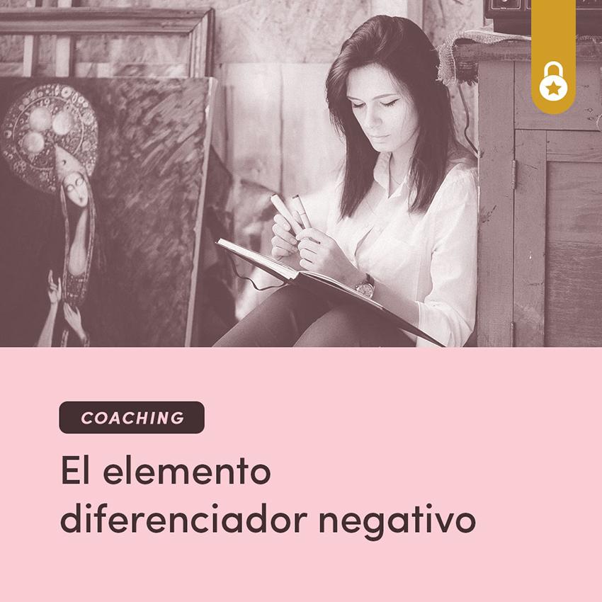 Coaching: el elemento diferenciador negativo