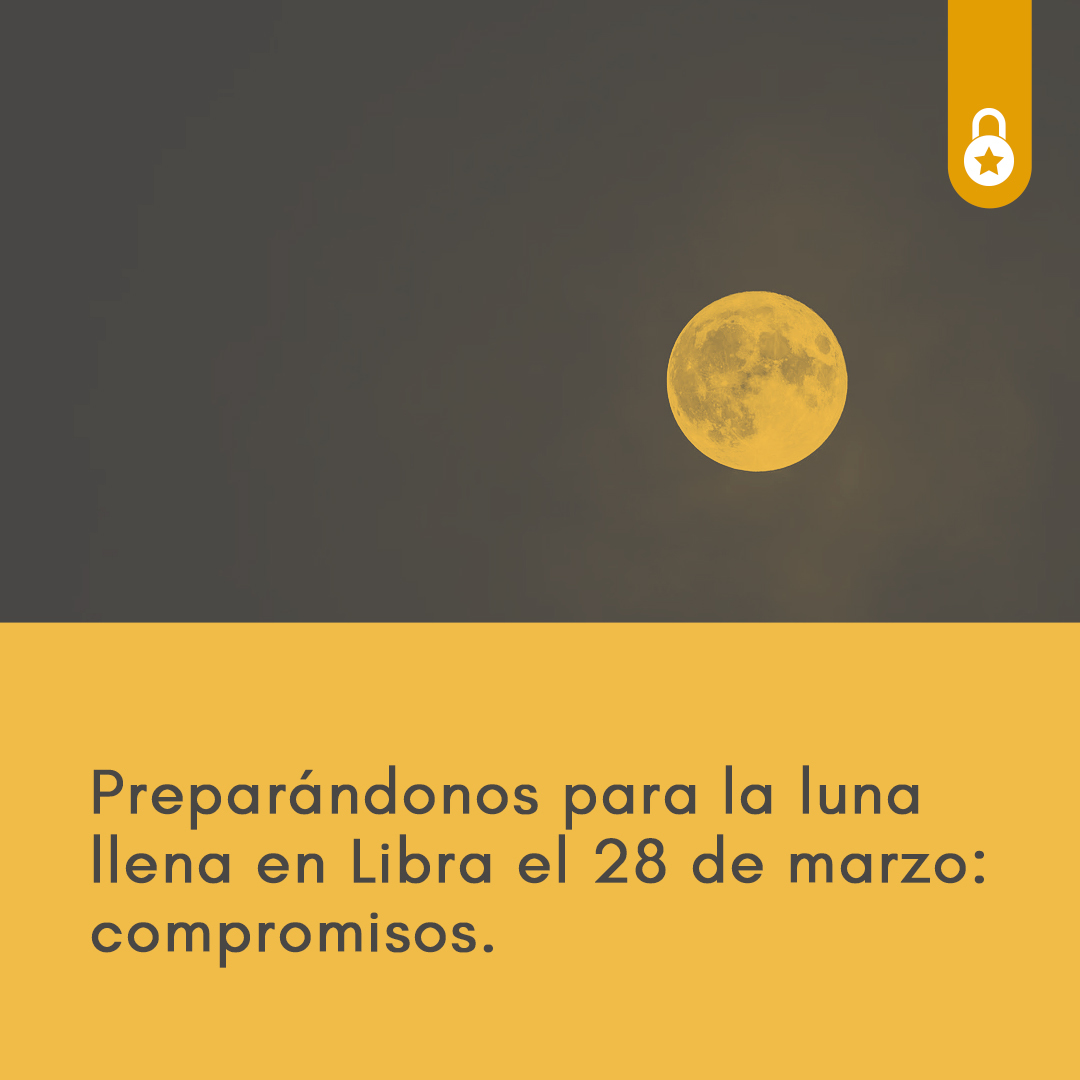 luna llena en Libra