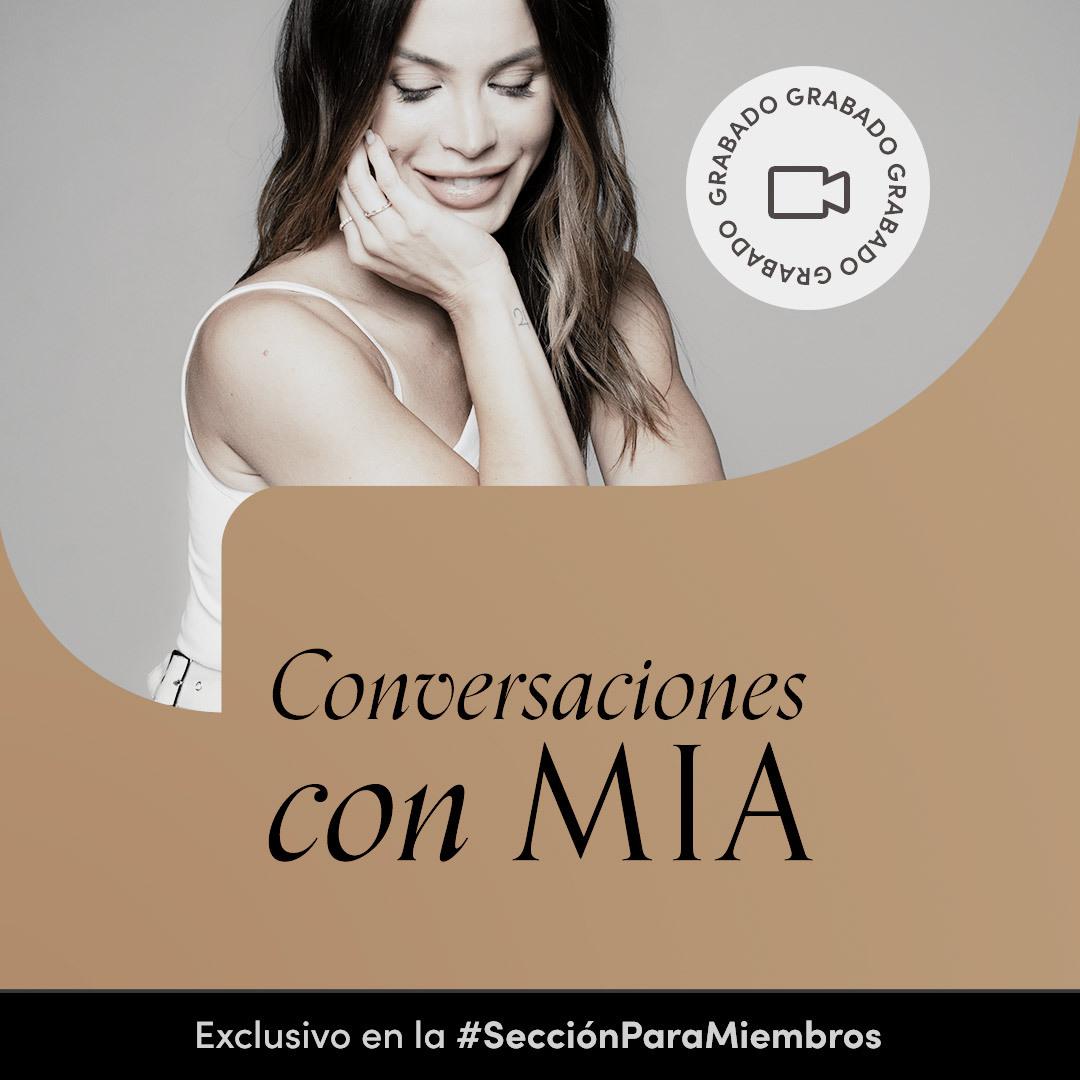 Encuentro grabado: Conversaciones con Mia