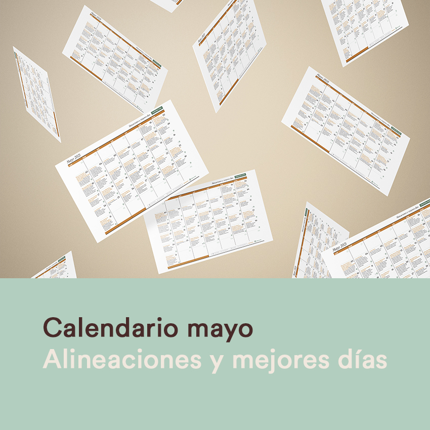 Calendario de mayo 2021 alineaciones y mejores días