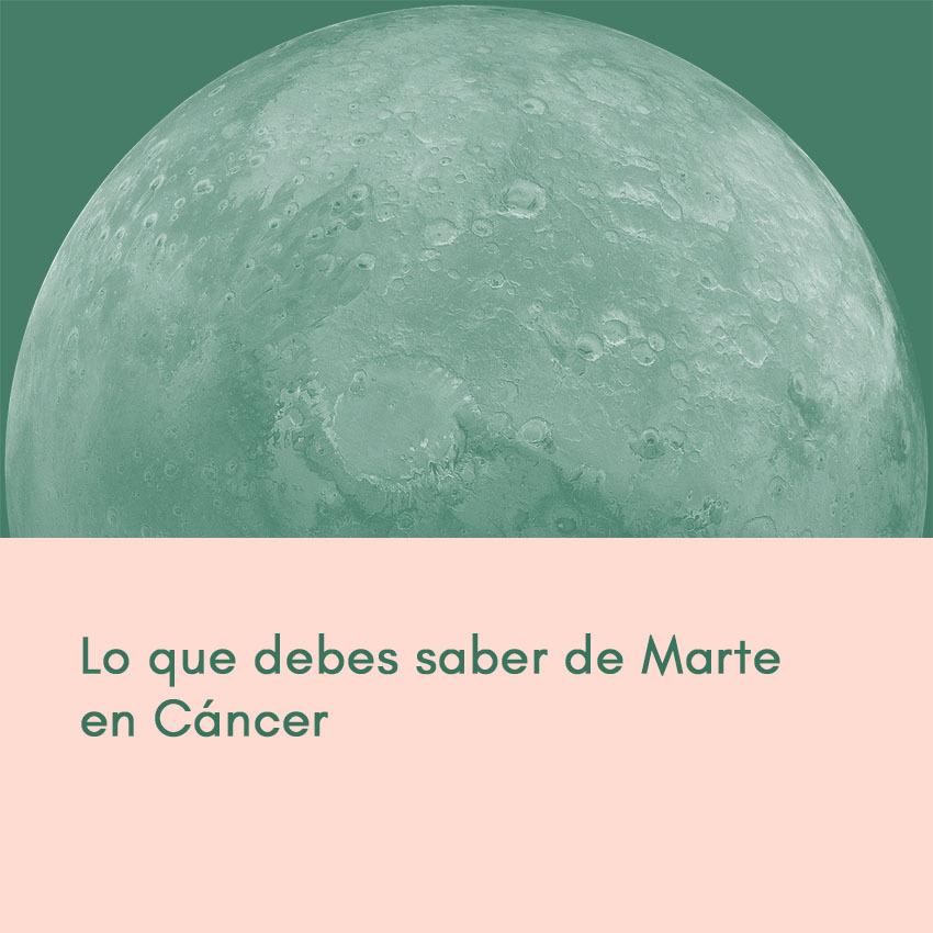 Marte en Cáncer