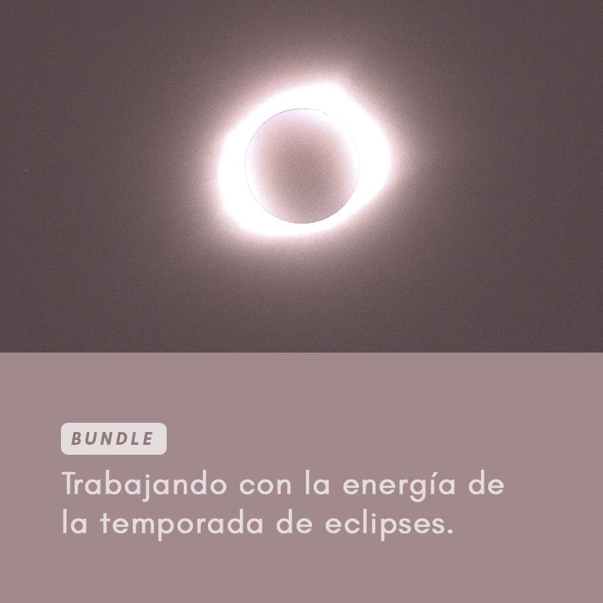 energía de la temporada de eclipses