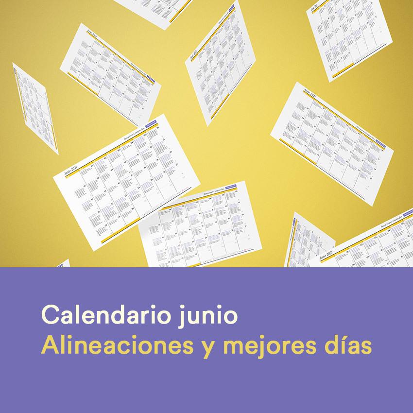 Calendario de eventos astrológicos y mejores días del mes de junio 2021
