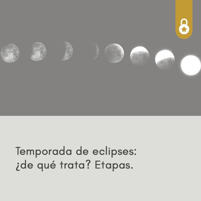 Temporada de eclipses: