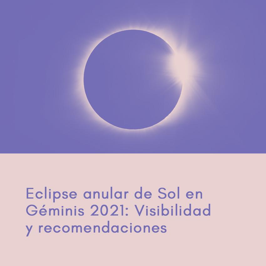 Eclipse anular de Sol en Géminis