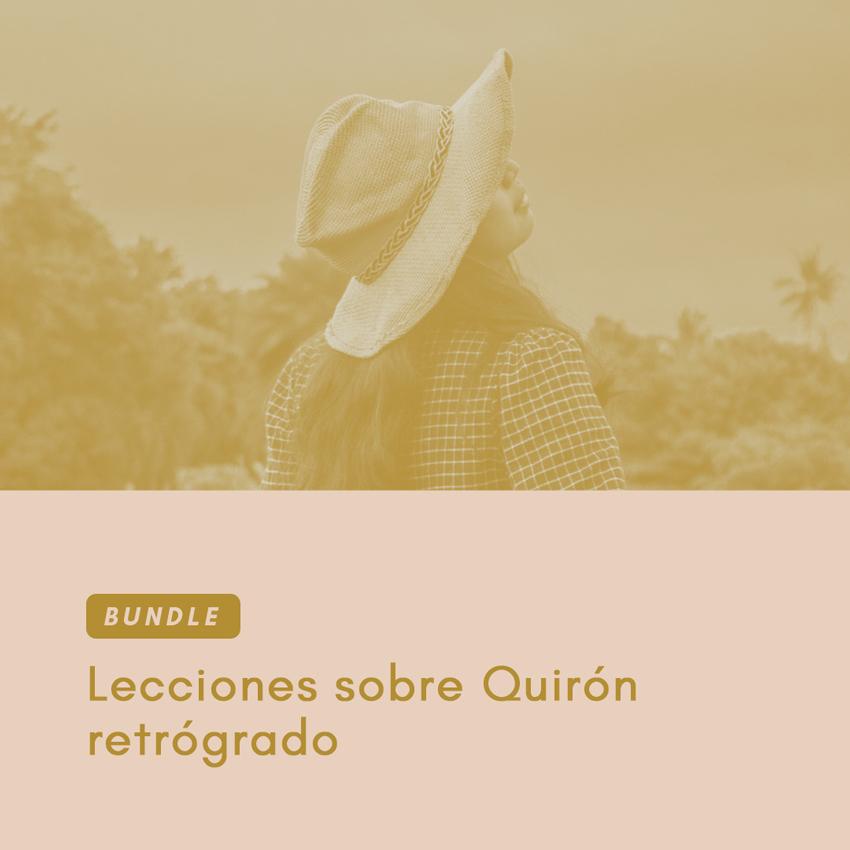 Bundle: lecciones sobre Quirón retrógrado