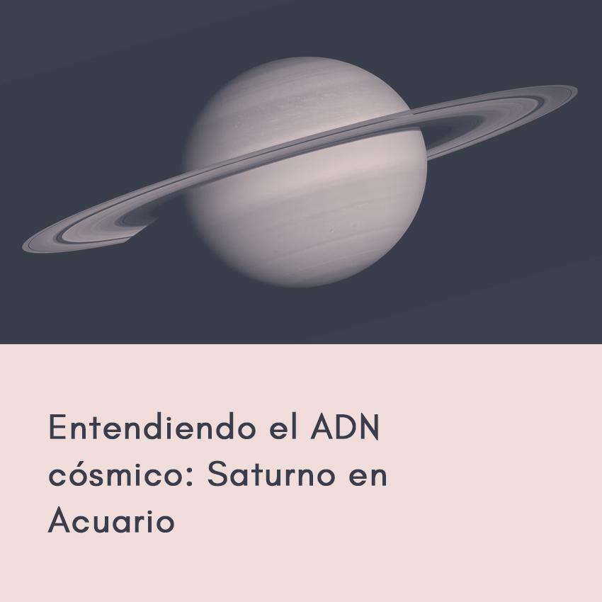 Saturno en Acuario