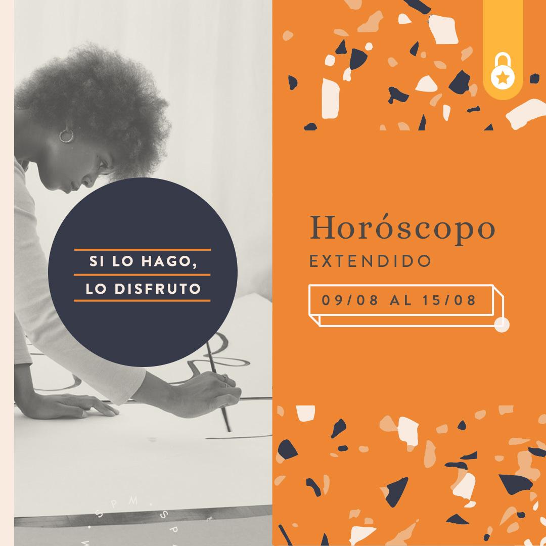 Horóscopo extendido del 09 al 15 de agosto 2021