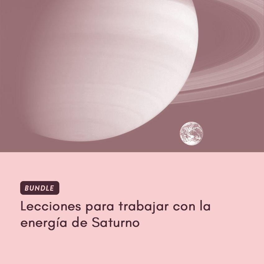 lecciones para trabajar con la energía de Saturno